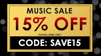 Save 15% on Elligible Items with Code SAVE15.