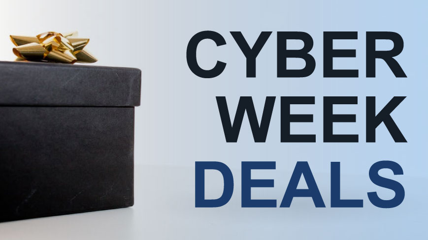 Shop Cyber Week Deals